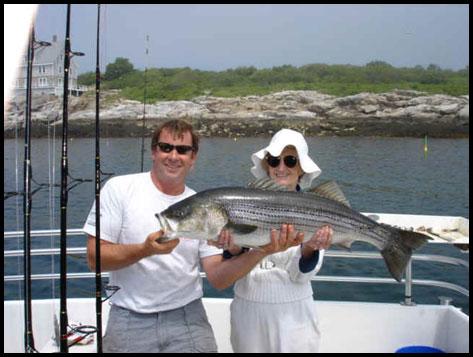 Fishing Maine, New Hampshire, Massachusetts